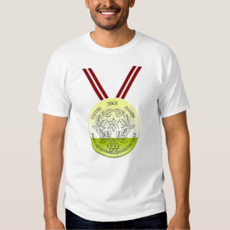SAA Winter Games Gold Medal T Shirts