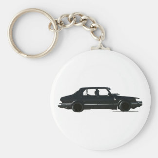 SAAB 900 KEY RING