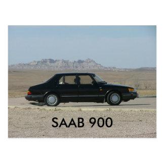 SAAB 900 POSTCARD