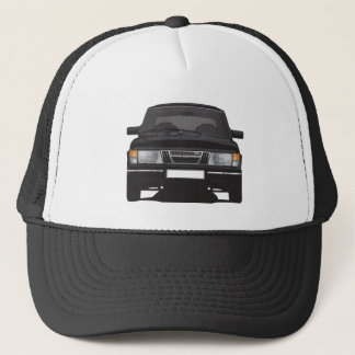 Saab 900 turbo (black) trucker hat