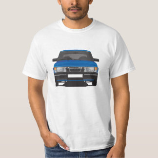 Saab 900 turbo (blue) T-Shirt