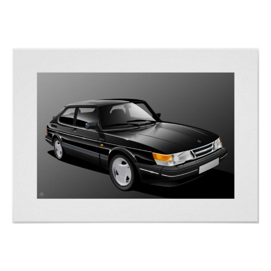 SAAB 900 Turbo Poster
