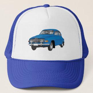 Saab 96 blue trucker hat