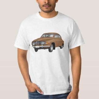 Saab 96 (brown) t-shirt