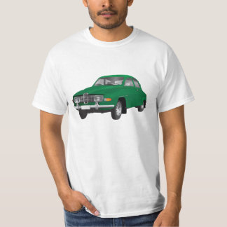 Saab 96 (green) t-shirt
