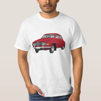 Saab 96 (red) t-shirt