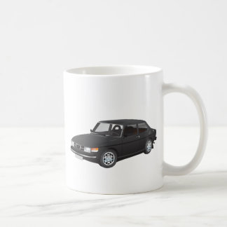 Saab 99 black coffee mug