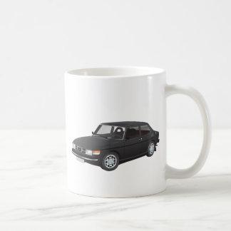 Saab 99 black coffee mug