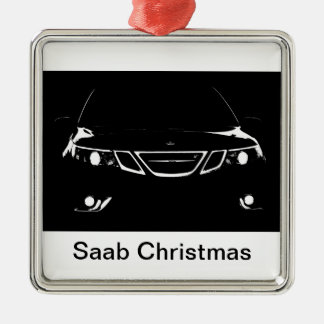 Saab Christmas Christmas Ornament