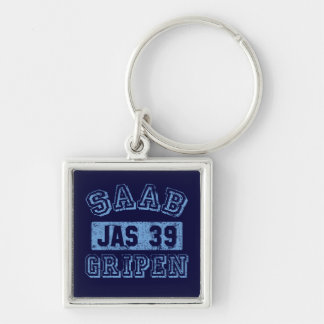 Saab Gripen - BLUE Key Ring