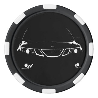 Saab Poker Chips