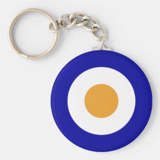 SAAF Roundel 1927-1947 Basic Round Button Key Ring