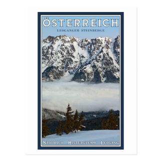 Saalbach - Valley Fog Postcard