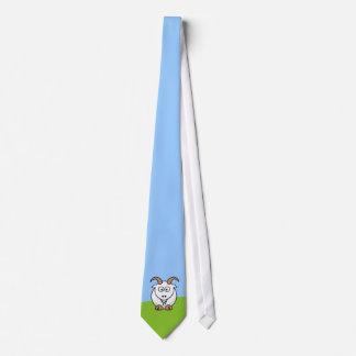 Saanen Goat Tie