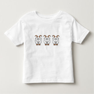 Saanen Goat Toddler T-Shirt