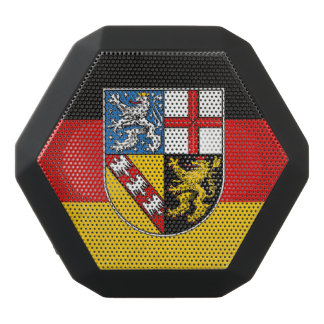 Saarland Black Bluetooth Speaker