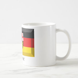 Saarland Flag Gem Coffee Mug