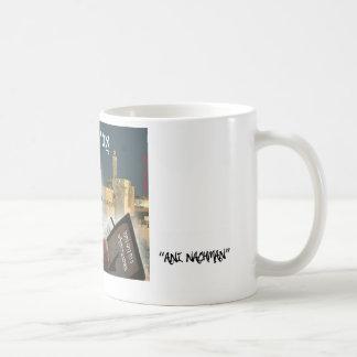 Saba Jerusalem coffee cup/ ani nachman Basic White Mug