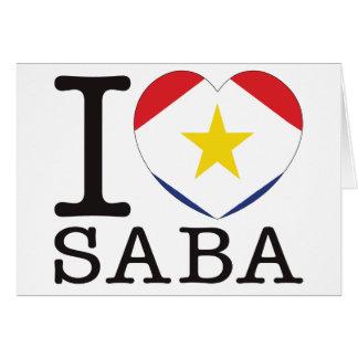 Saba Love v2 Greeting Cards