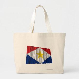 Saba Waving Flag Jumbo Tote Bag