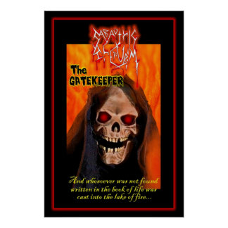 "Sabaothic Cherubim ""The Gate Keeper"" Poster"