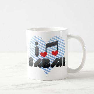 Sabar fan basic white mug