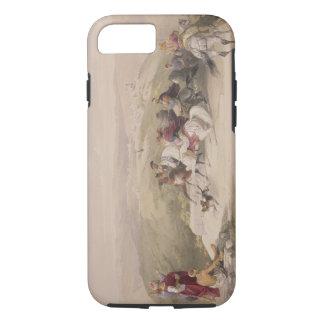 Sabaste, ancient Samaria, April 17th 1839, plate 4 iPhone 8/7 Case