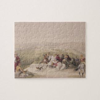 Sabaste, ancient Samaria, April 17th 1839, plate 4 Jigsaw Puzzle