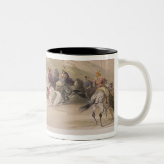 Sabaste, ancient Samaria, April 17th 1839, plate 4 Mug