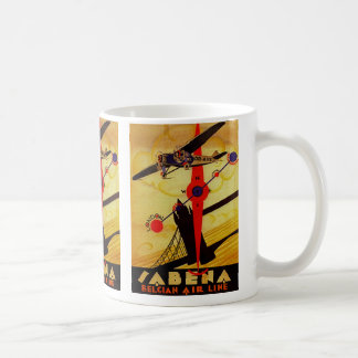 Sabena Art Deco Compass Basic White Mug