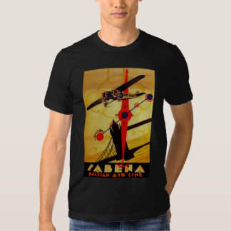 Sabena Art Deco Compass Shirts