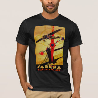 Sabena Art Deco Compass T-Shirt