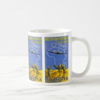 Sabena ~ Belgique Congo Coffee Mug