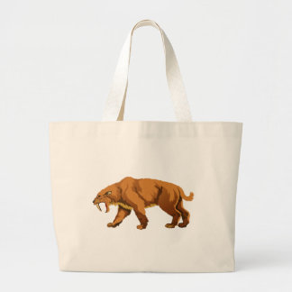 Saber-toothed Cat Canvas Bag
