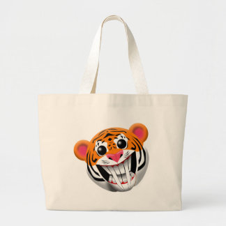 saber-toothed tiger canvas bags