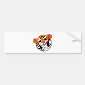 saber-toothed tiger bumper sticker