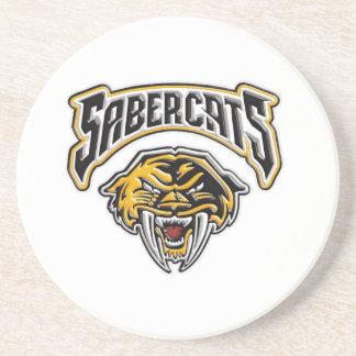 Sabercats Youth Football Cheer Coasters