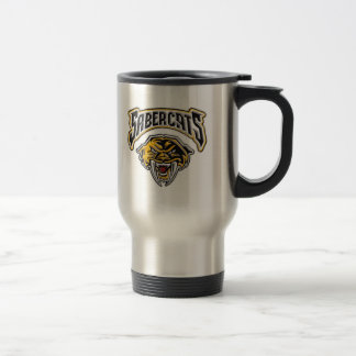 Sabercats Youth Football & Cheer Stainless Steel Travel Mug