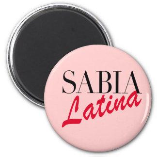 Sabia Latina Magnet