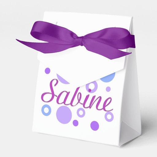 Sabine Party Favor Box