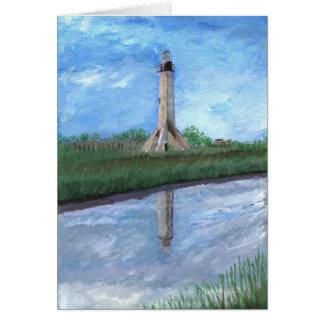 Sabine Pass Lighthouse, Louisiana Card