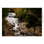 Sable Falls In Autumn Greeting Card
