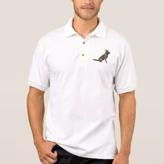 Sable German Shepherd Dog Polo Shirt