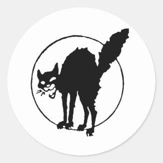 Sabo Cat Round Sticker