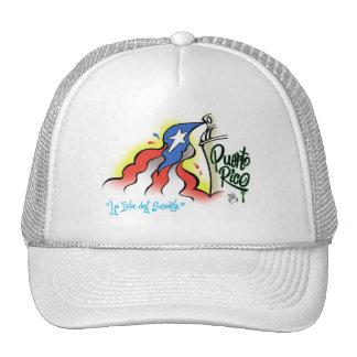 """Sabor Boricua """"mi bonita bandera"""" Baseball Cap"""