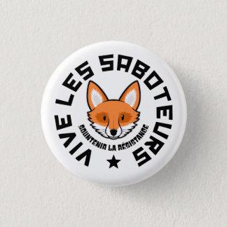 Sabotage 3 Cm Round Badge