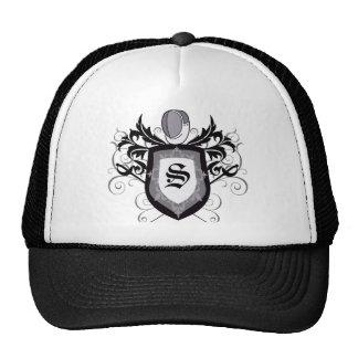 Sabre Crest Fencing B&W Hat