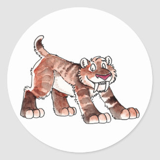 Sabretooth Tiger Stickers