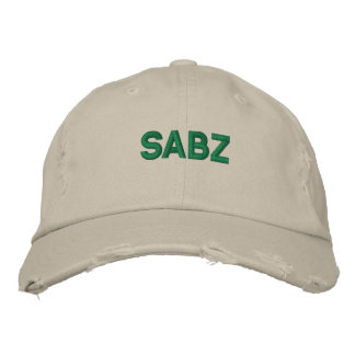 SABZ EMBROIDERED HATS