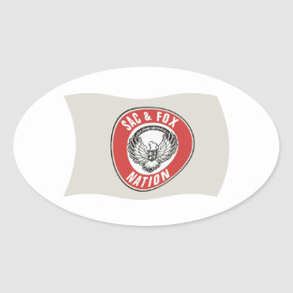 Sac & Fox Nation (Oklahoma) Flag Sticker